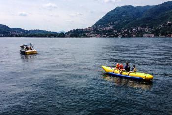 wakeboard lake como bananone